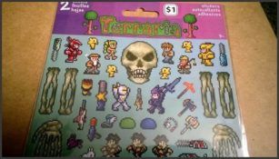 Terraria stickers.