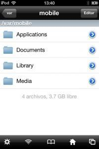 """Photo of """"Documents"""" iPod Touch 4 (iOS 6.1.2)."""