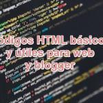 See ⭐ Basic and useful HTML CODES for WEB sites or BLOGGER ✅, in addition, we will give you an EXTENSIVE LIST ⭐ of codes to decorate your website.
