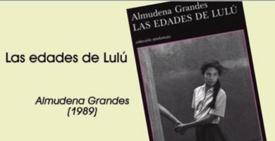 Un libro muy famoso: Las edades de Lulú, lleno de erotismo y escenas de sexo.