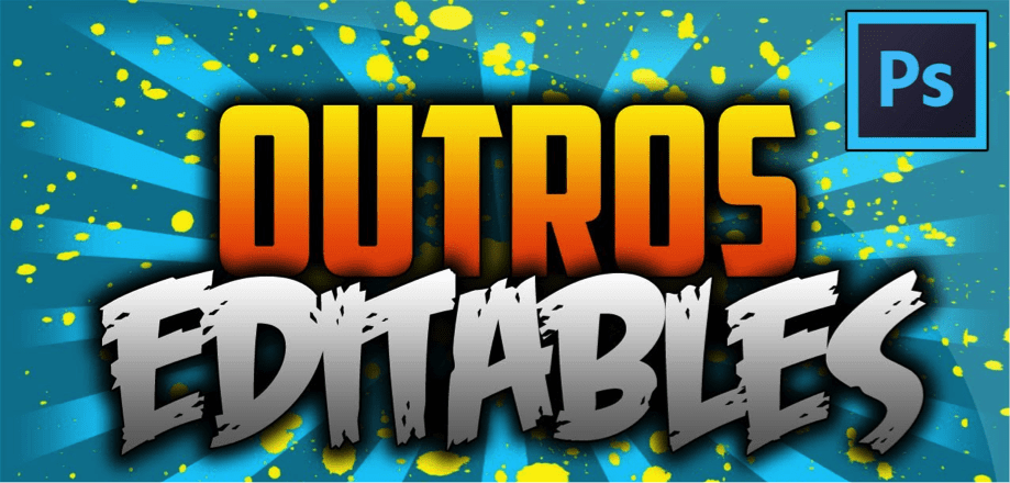 Are you looking for good outros for videos ?: here you will find a GREAT pack with MANY OTHERS that you can even EDIT.