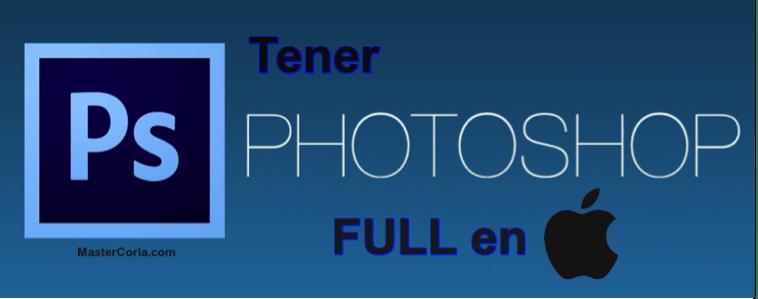 Aquí podrás obtener el famoso editor de fotos Photoshop CC 2015 Fullpara Mac. Ahora podrás editar y hacer arte SIN LÍMITES.