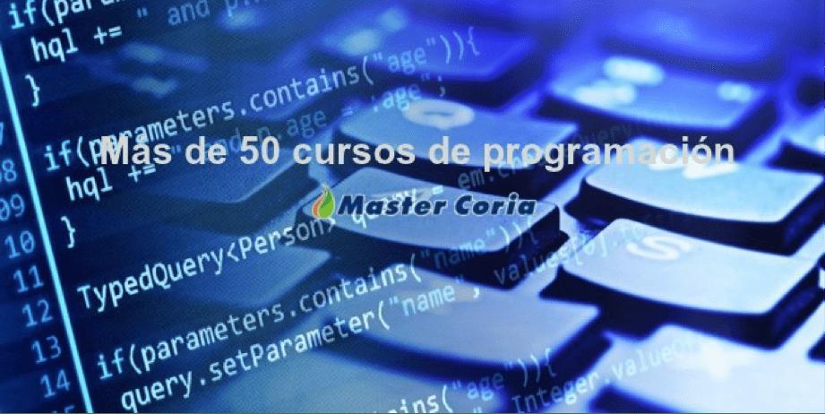 Encontrarás más de 50 cursos GRATUITOS de programación, y con buen contenido. Desde diseño web, pasando por apps y muchos más.