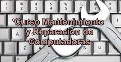 Verás un ⭐ CURSO completo de REPARACIÓN y MANTENIMIENTO ✅ preventivo y correctivo tanto de computadoras, laptops (PC) y notebook. ⭐