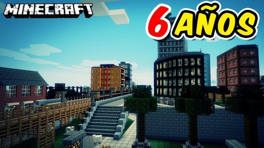 Newisle, el mapa de Minecraft que tardó 6 años en construirse.