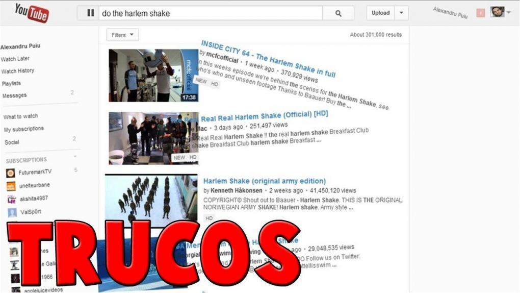 Here you will see YouTube TRICKS that maybe you DID NOT KNOW, but that are VERY USEFUL when using this incredible platform.