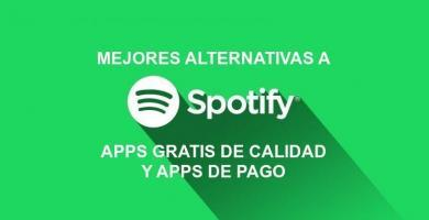 You will see the ⭐ BEST APPS of ALTERNATIVES to the mythical SPOTIFY ✅ Premium for FREE ⭐, with the same QUALITY music. ENTERS!