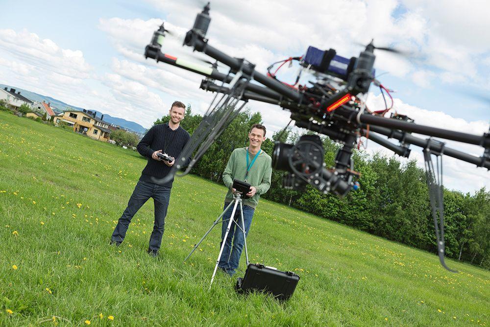 Curso gratuito de drones.