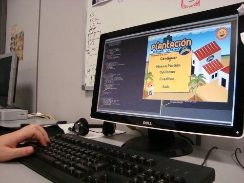 Desarrollo de videojuegos.