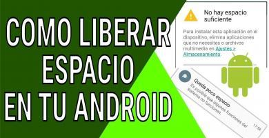 In this post we will teach you some practices that you can do to eliminate unnecessary space from your Android device. ENTERS!