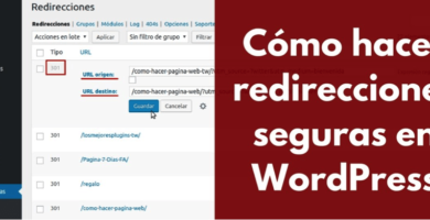 Do you know the importance of doing a redirect in WordPress? Well, if not, here we tell you and by the way we help you make redirects. ENTERS!