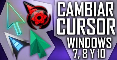 In this post we will show you how you can change the cursor without the use of any program in Windows 7, 8 or 10, it includes a pack of cursors. ENTERS!