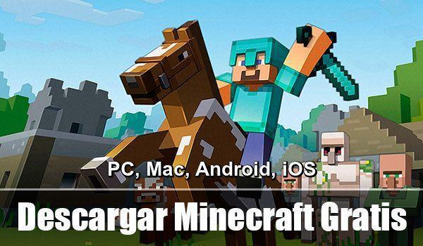 Aprenderás cómo ⭐ INSTALAR el MINECRAFT de forma gratis para tu PC WINDOWS, MAC, ANDROID o iOS ✅, teniendo cuenta Premium GRATIS. ⭐