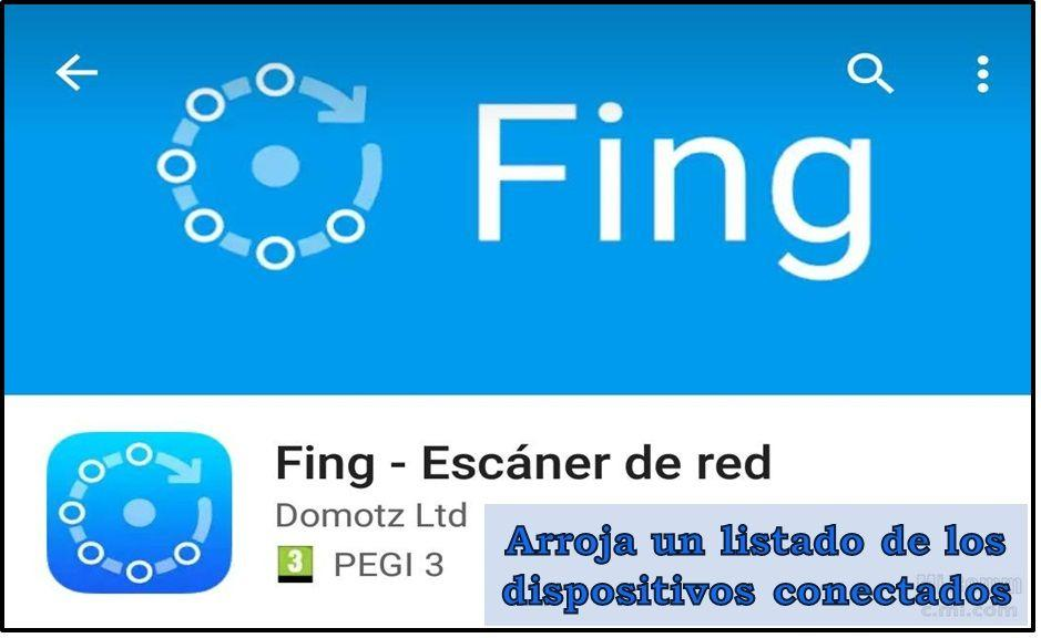 Fing: app to know if your WiFi is stolen.