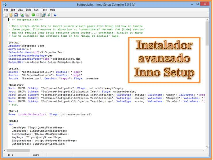 Inno Setup, creator of installers.