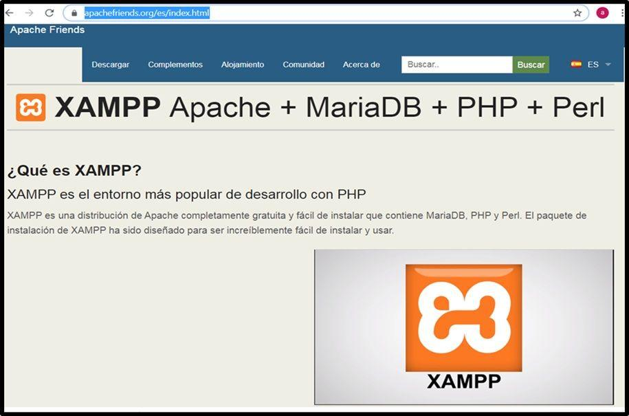 ¿Cómo instalar servidor XAMPP en Windows?