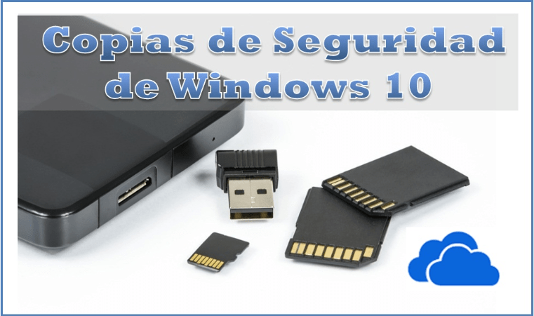 Aprende a crear una ⭐ COPIA de seguridad de WINDOWS 10 ✅ en dispositivos USB y disco externo; y servicios externos como la NUBE. ⭐