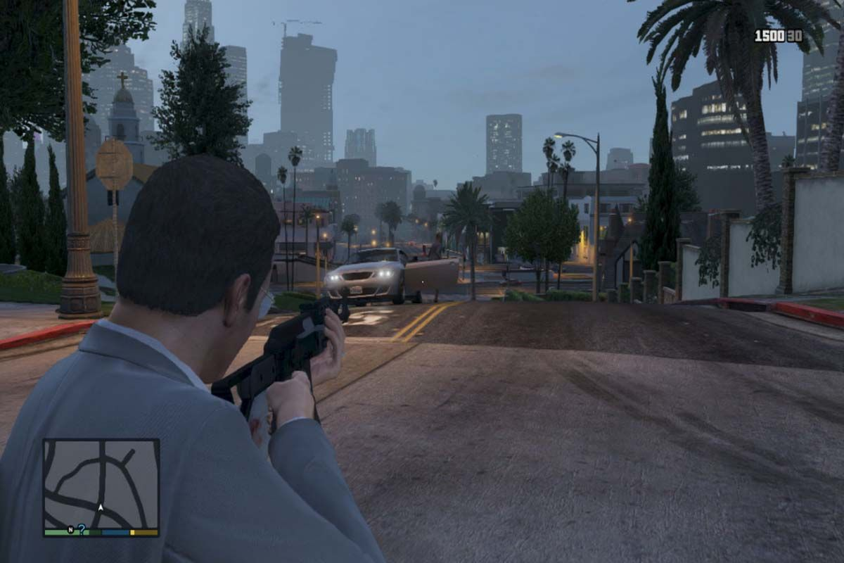 Get aiming in slow motion with this code from GTA 5