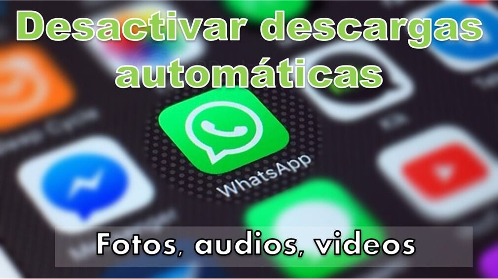 See how to ⭐ disable AUTOMATIC DOWNLOAD ✅ of WhatsApp files on your ANDROID or iPhone ⭐ step by step, easily and quickly.