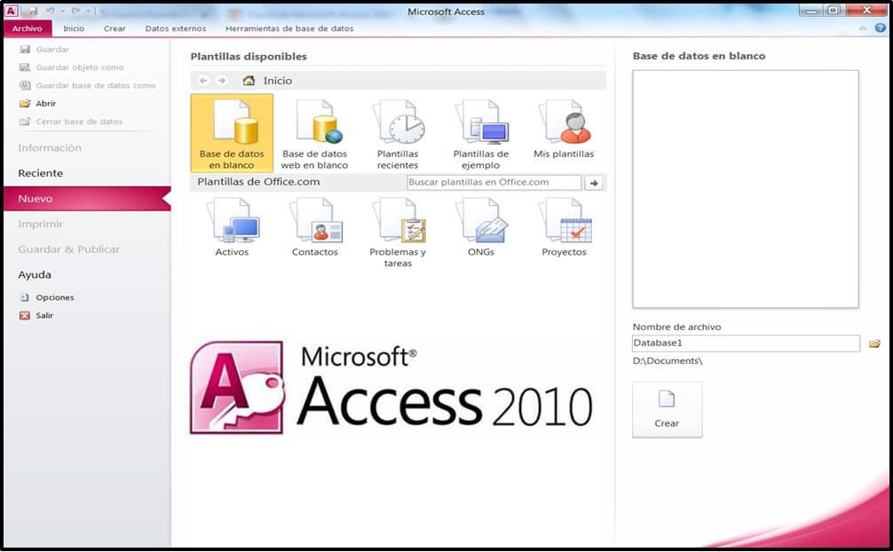 Microsoft Access 2010 Course
