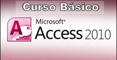 ACTUALIZADO. ✅ En este post encontrarás un ⭐ CURSO básico y GRATIS de Microsoft ACCESS versión 2010 de forma online. ⭐ ¡Fórmate ya!