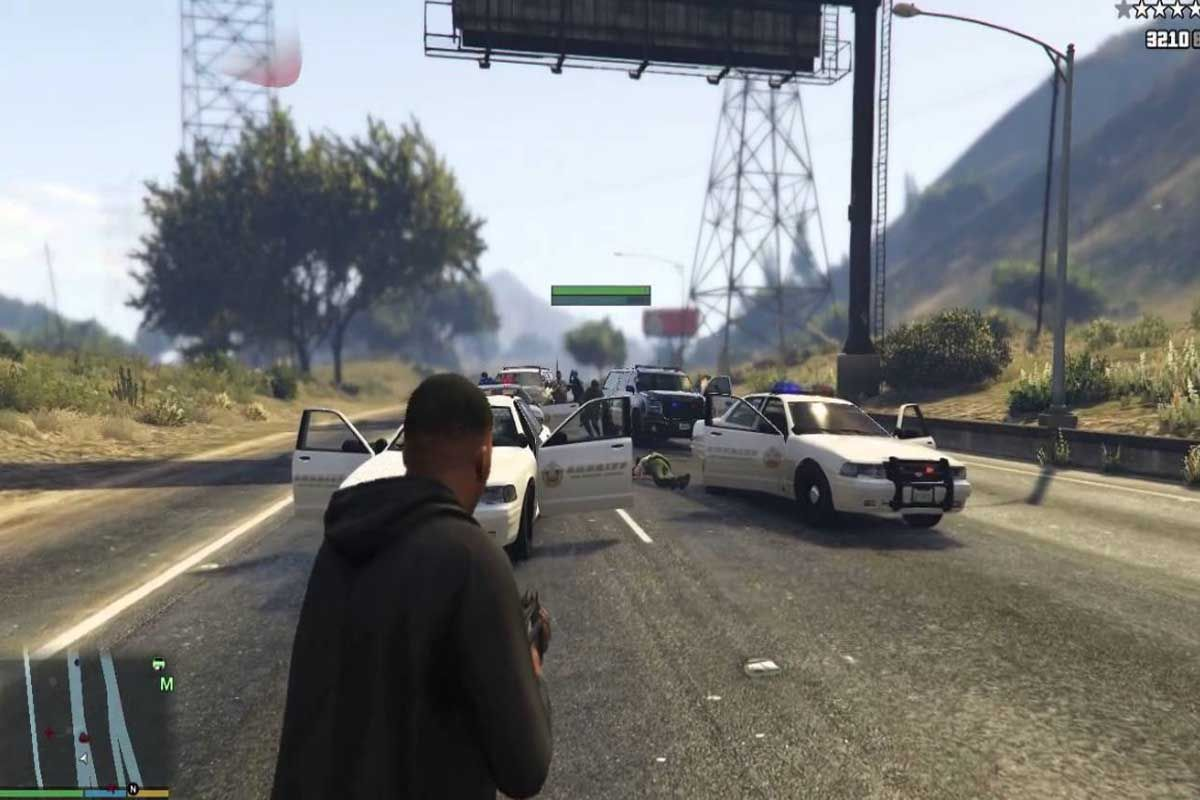 Activate yourself again with one of the best cheats for GTA 5: Maximum health and armor