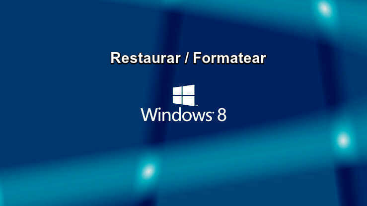 Learn how to ⭐ RESTORE or FORMAT a factory PC with Windows 8 and 8.1 ✅ both from boot, BIOS and WITHOUT CD ⭐ step by step.