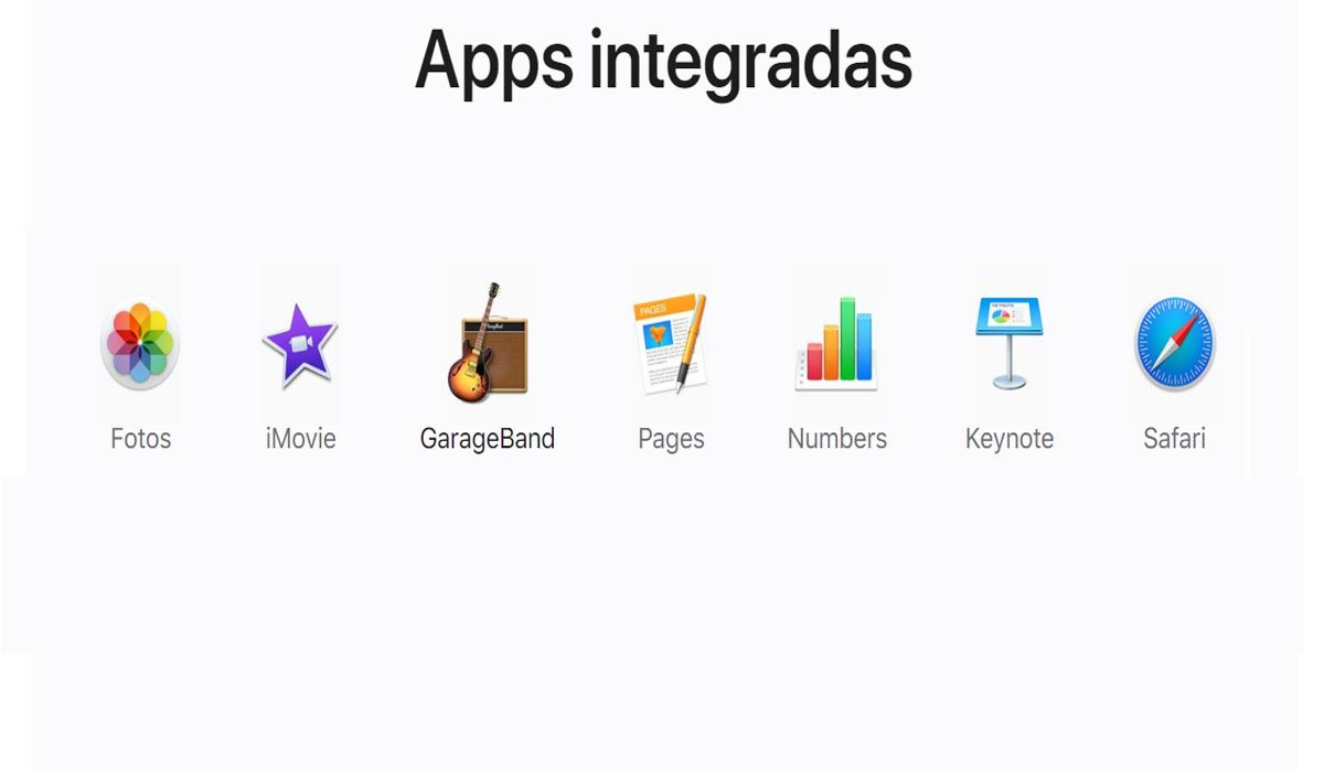 Basic applications every Mac should have, available only for the Mac OS operating system
