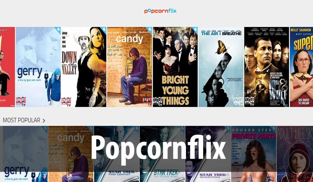 Popcornflix, an excellent platform similar to Netflix for free