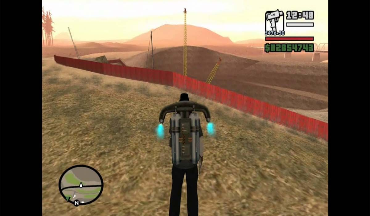 One of the best GTA San Andreas cheats is the jackpack for PC, Xbox and PlayStation