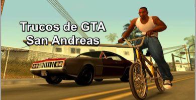 Ve aquí ⭐ TRUCOS de GTA San Andreas ✅ tanto en PC, Xbox, Xbox 360, PS2, PS3 y PS4 ⭐ y así disfrutar al máximo de este juego.