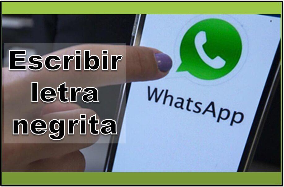 bold font on whatsapp