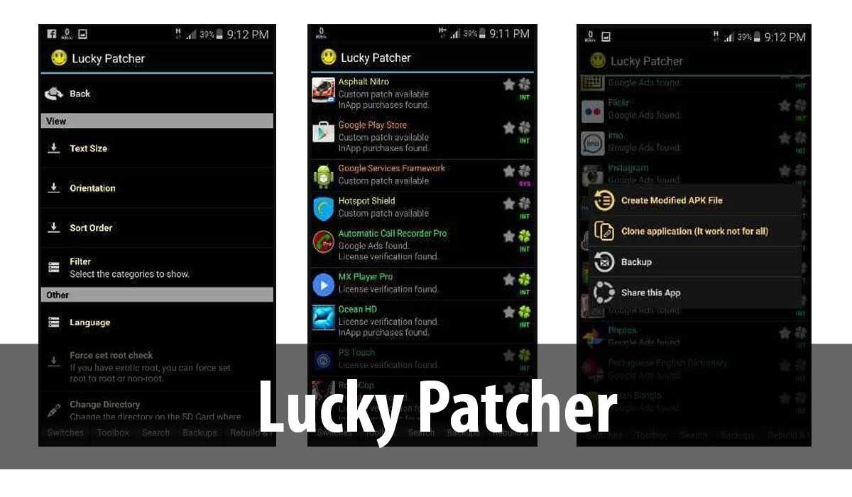 Lucky Patcher, una de las apps para hackear Juegos Android este 2020
