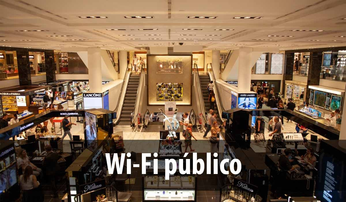 Using public Wi-Fi is a good option