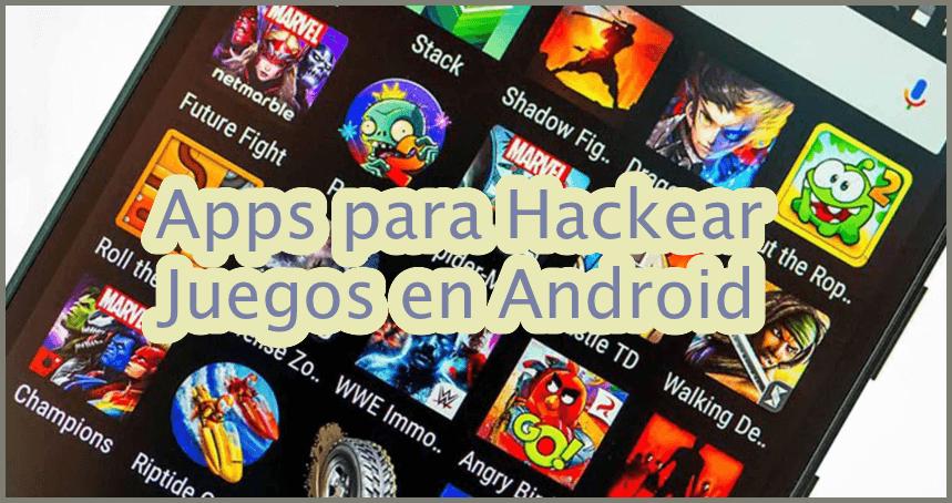 ¿En busca del mejor HACK para JUEGOS? ✅ Aquí te mostraremos las mejores apps para hackear juegos ⭐ en tu sistema operativo Android.