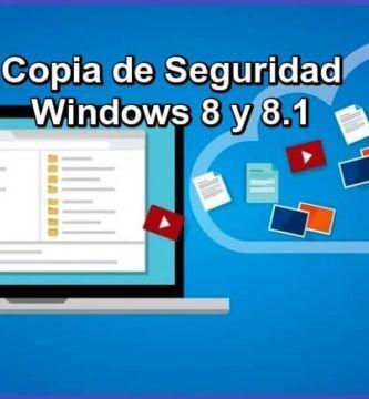 Aprende cómo HACER una COPIA de SEGURIDAD ✅ completa de tu sistema operativo WINDOWS 8 y 8.1 ⭐ paso a paso, fácil y práctico. ¡ENTRA!
