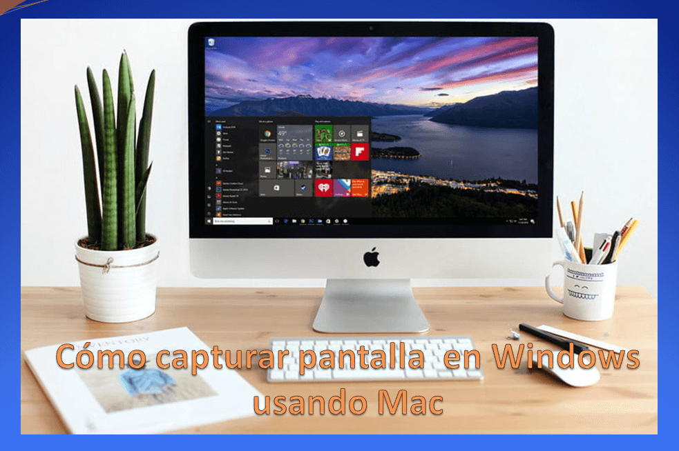 ⭐ We will teach you to CAPTURE SCREEN images ✅ on WINDOWS systems running under MAC OS. It is not difficult at all.