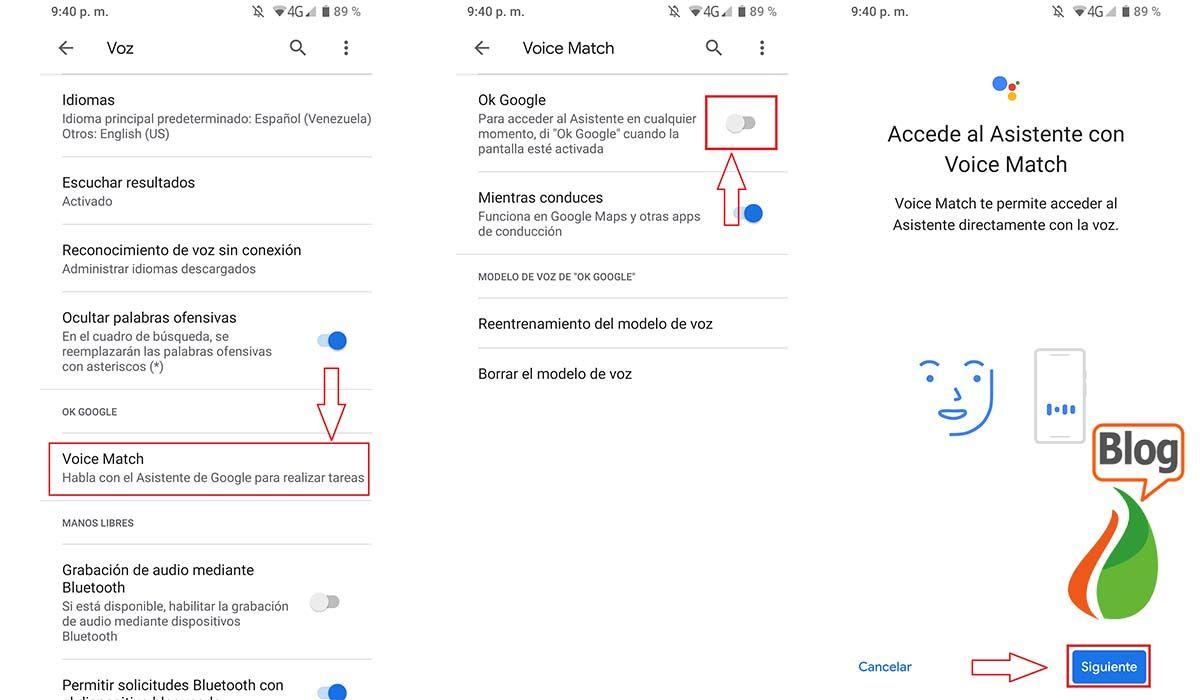 Así podrás activar el Asistente OK Google en Samsung