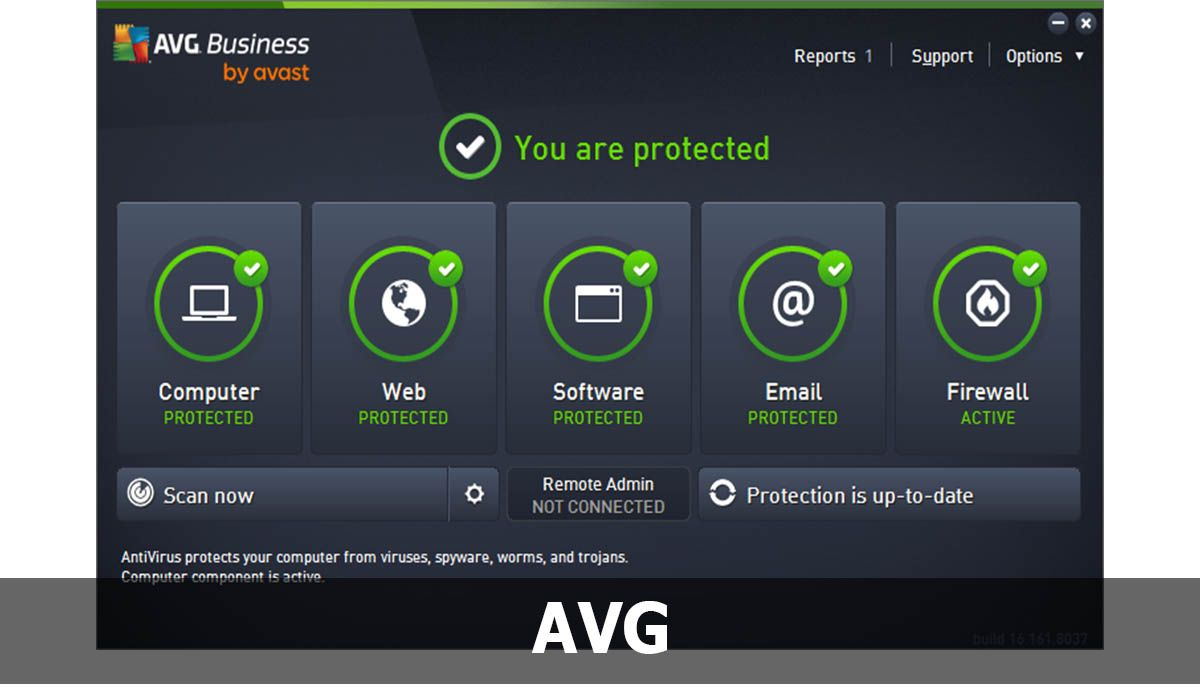 AVG to protect your PC with Windows 7 system