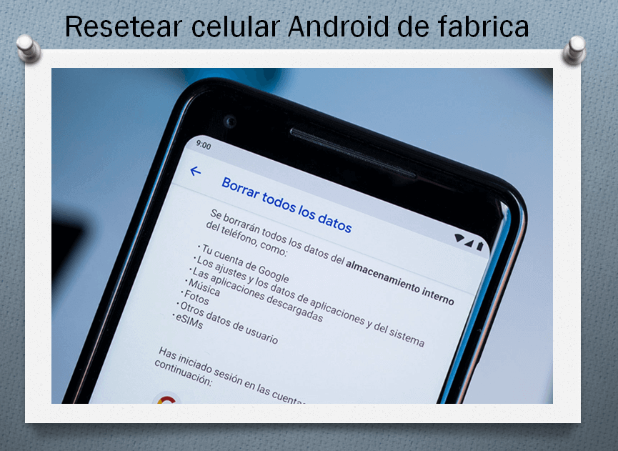 See how you can ⭐ Format or RESET an ANDROID cell phone ✅ step by step from FACTORY, in a FREE and EASY way, without programs.