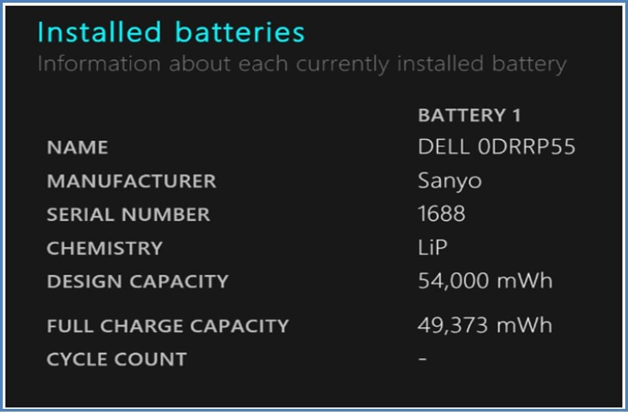 Check the battery status of your PC with this program.