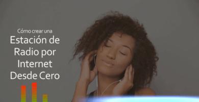 ¿Quieres crear tu propia estación? ✅ Tenemos un CURSO GRATIS para que puedas aprender a CREAR una ESTACIÓN DE RADIO por la internet. ⭐