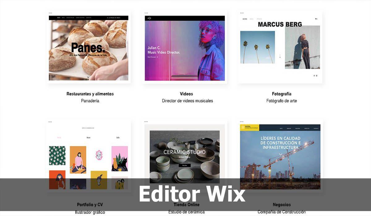 Editor Wix, una de las mejores alternativas a WordPress