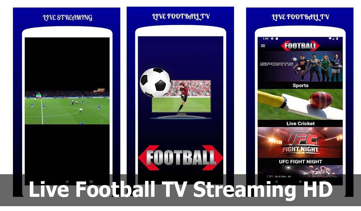 Una de las mejores apps para ver fútbol gratis por internet y sin cortes es Live Football TV Streaming HD