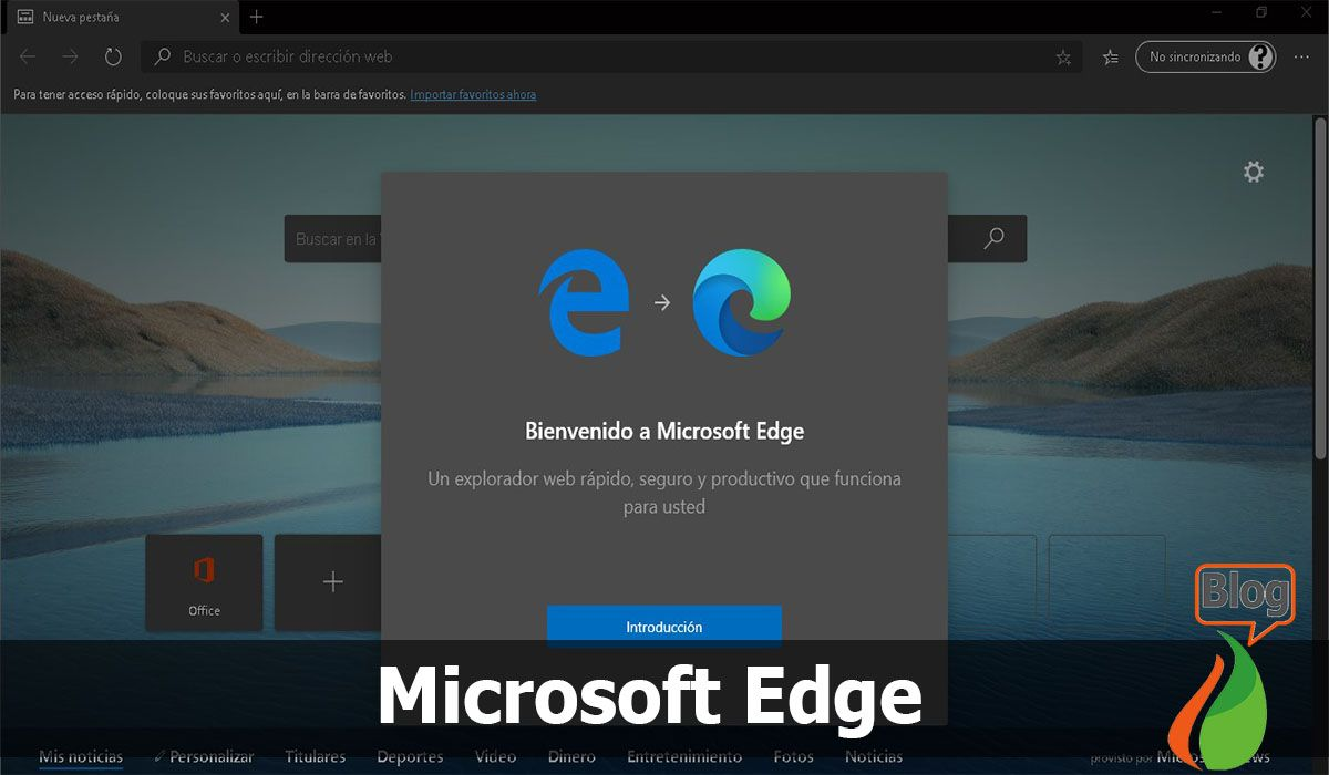 Among the most popular internet browsers we have Microsoft Edge