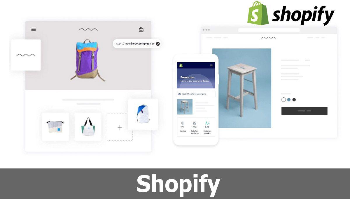 Shopify, otro de los programas similares a WordPress