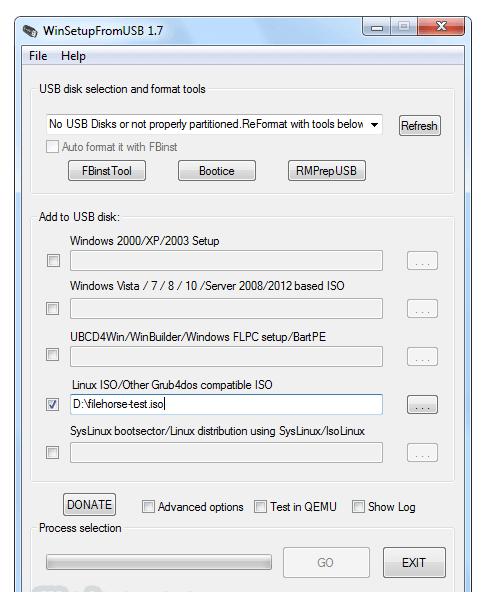 bootable USB flash drives