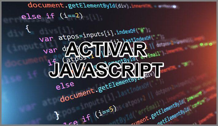 Ve Aquí ⭐ Cómo ACTIVAR JAVASCRIPT gratis y fácil en Android como iOS, y en los navegadores más populares como Chrome, Mozilla, Safari y otros. ✅