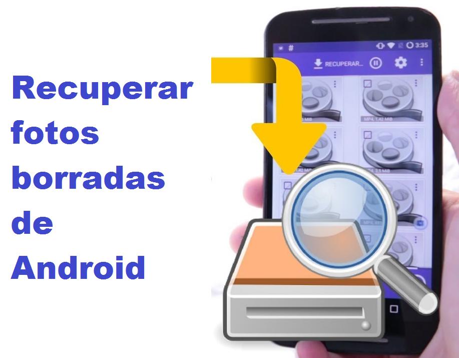 ¿Se ha borrado una foto por accidente en tu Android? ENTRA AQUÍ ✅ para ver cómo RECUPERAR las FOTOS Borradas del ANDROID. ⭐