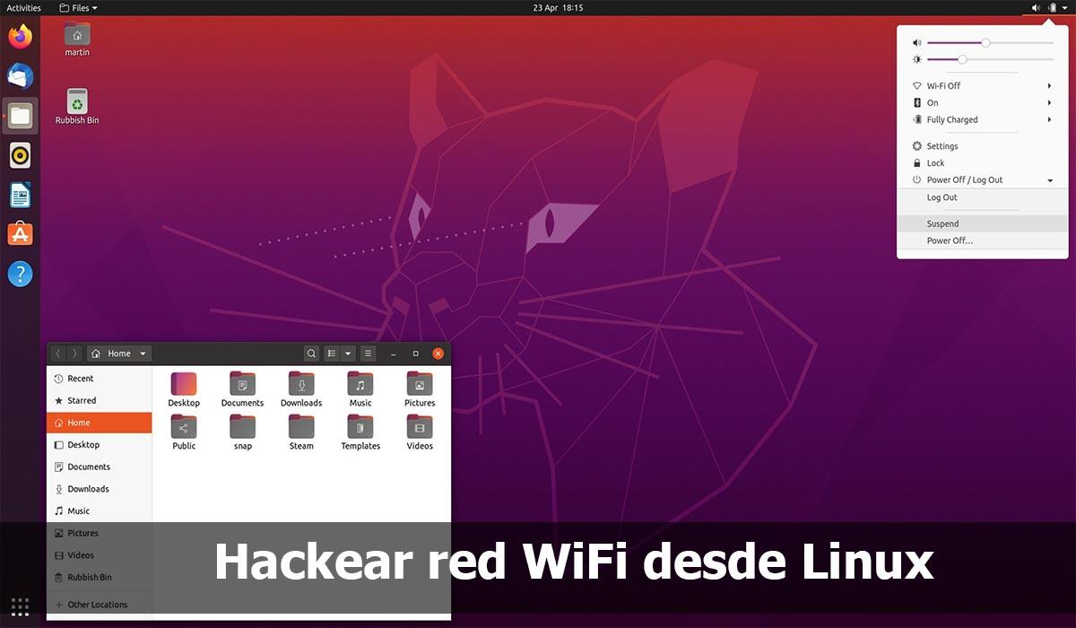 Hackear red WiFi desde Linux